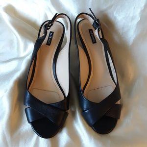 NWOB Alex Marie Black Wedge Heels